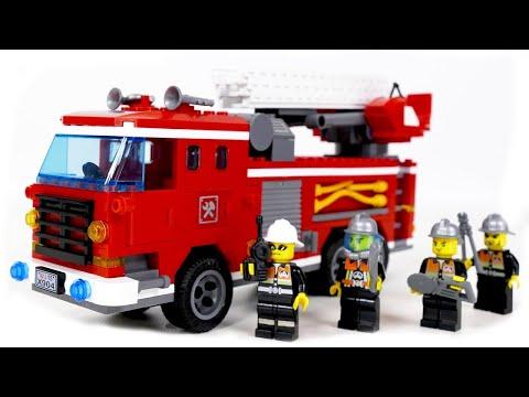 three bridge fire engines enlingten brick 904  - Speed Build
