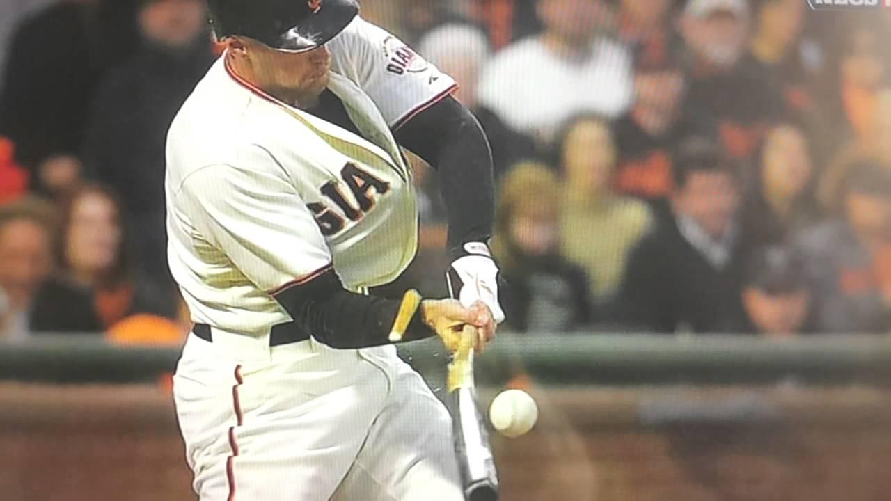 Bat Hits Ball Three Times