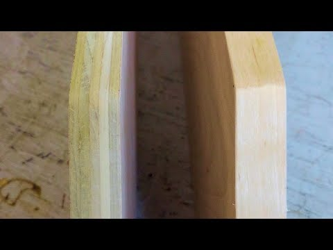 How to Apply Edge Banding Veneer to Plywood