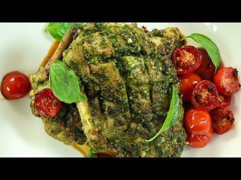 How To Make Pesto Chicken   Italian Recipes   Chicken Recipes   Italian Style Chicken Recipe   Varun