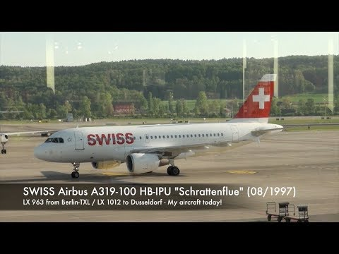 SWISS Airbus A319 HB-IPU LX 1012 Zurich-Dusseldorf Economy Class Trip Report