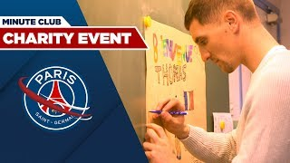 VIDEO: LA MINUTE CLUB - Thomas MEUNIER rend visite à une école