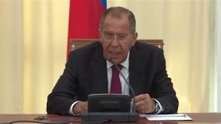 Пресс-конференция С.Лаврова и О.Салеха