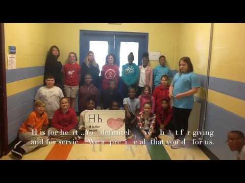 Thank you Olive Branch from Hobgood Elementary School
