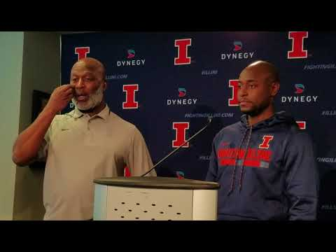 Lovie Smith introduces new assistant coaches Rod Smith and Cory Patterson