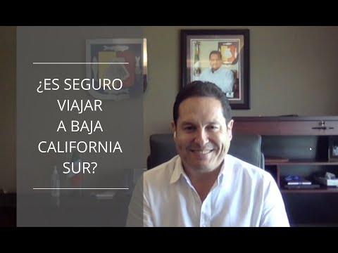 ¿Es seguro viajar a Baja California Sur?