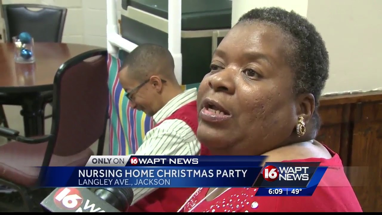 Nursing home residents celebrate Christmas with help from 16 WAPT
