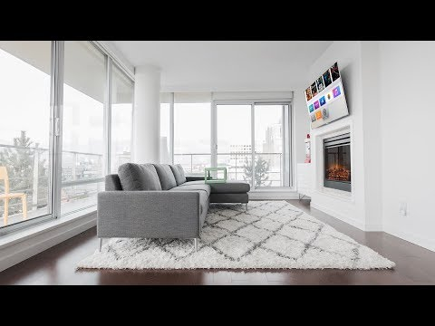 Modern 4K Living Room Setup Tour (2018)