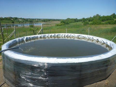 Самодельный бассейн (емкость для воды) на 12 кубов за 100 долларов. Часть 3