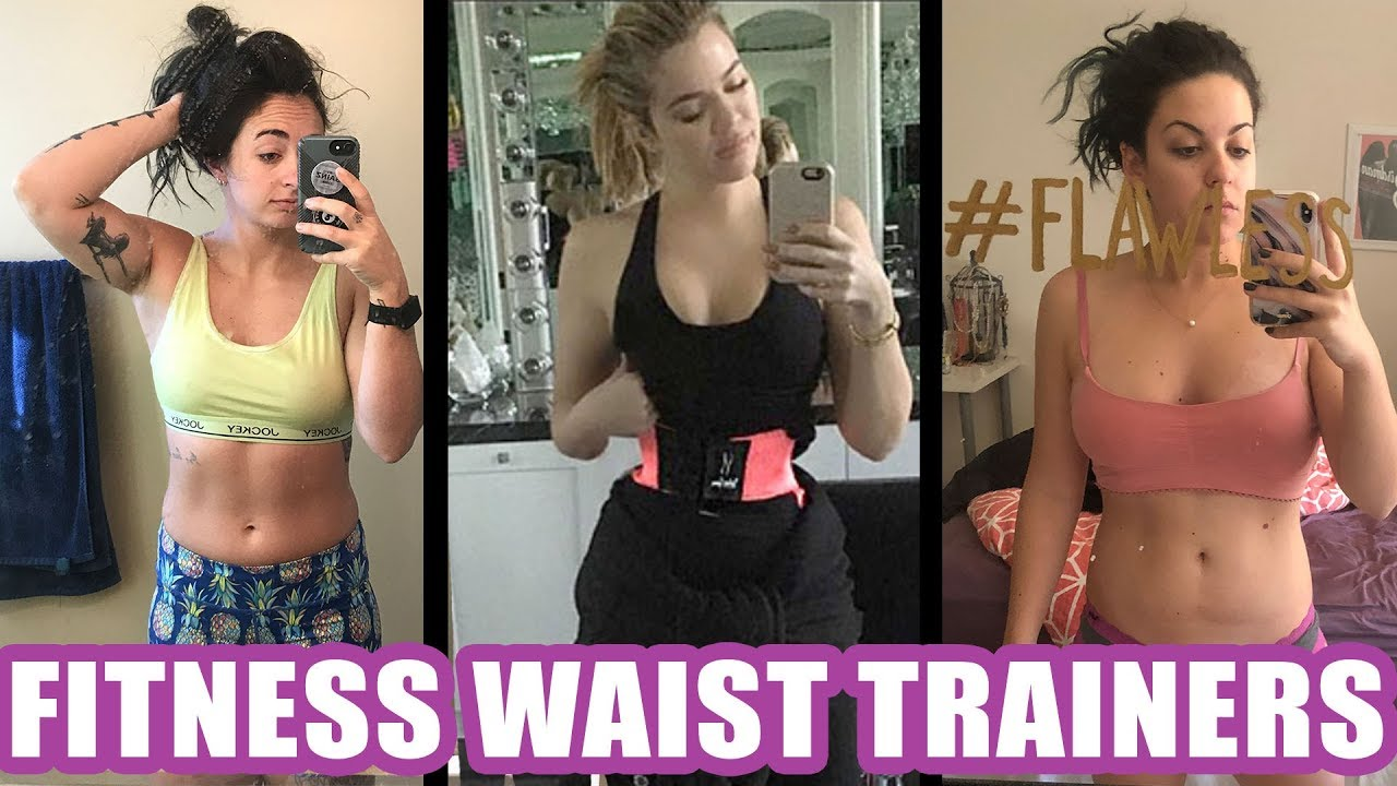 542127b6b We Tried the Fitness Waist Trainers All Over Instagram - YouTube