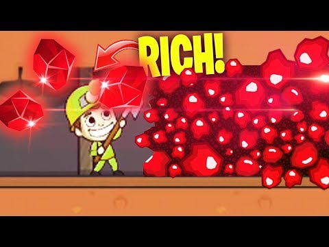MAXIMUM RUBY MINE! (+99999$) in Idle Miner