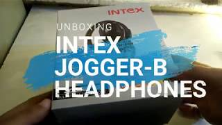 Intex   Jogger-B   Headphones   Wireless [Unboxing]