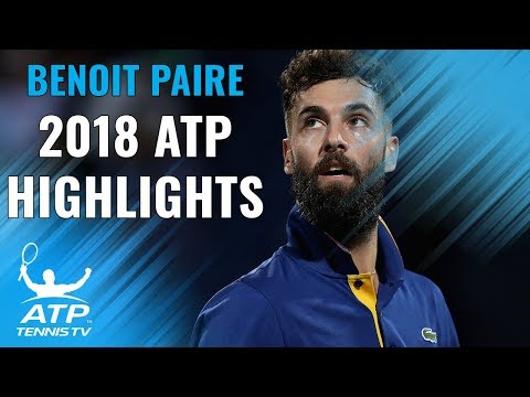BENOIT PAIRE: 2018 ATP Highlight Reel