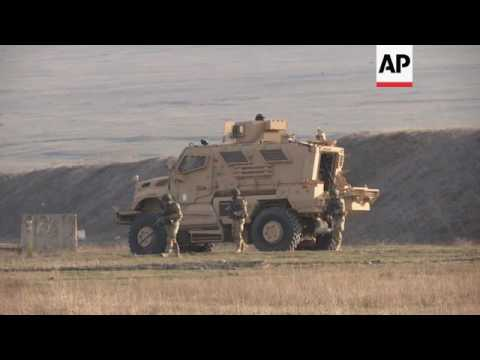 NATO officials visit Georgian military unit