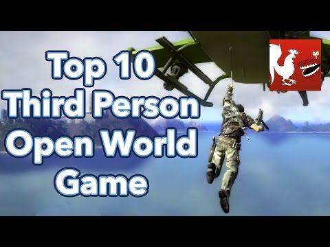 Countdown - Top 10 Third Person Open World Game Series   Rooster Teeth
