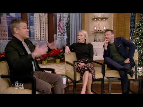 Matt Damon and the Hemsworth Brothers Run into Ryan