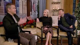 Matt Damon and the Hemsworth Brothers Run into Ryan