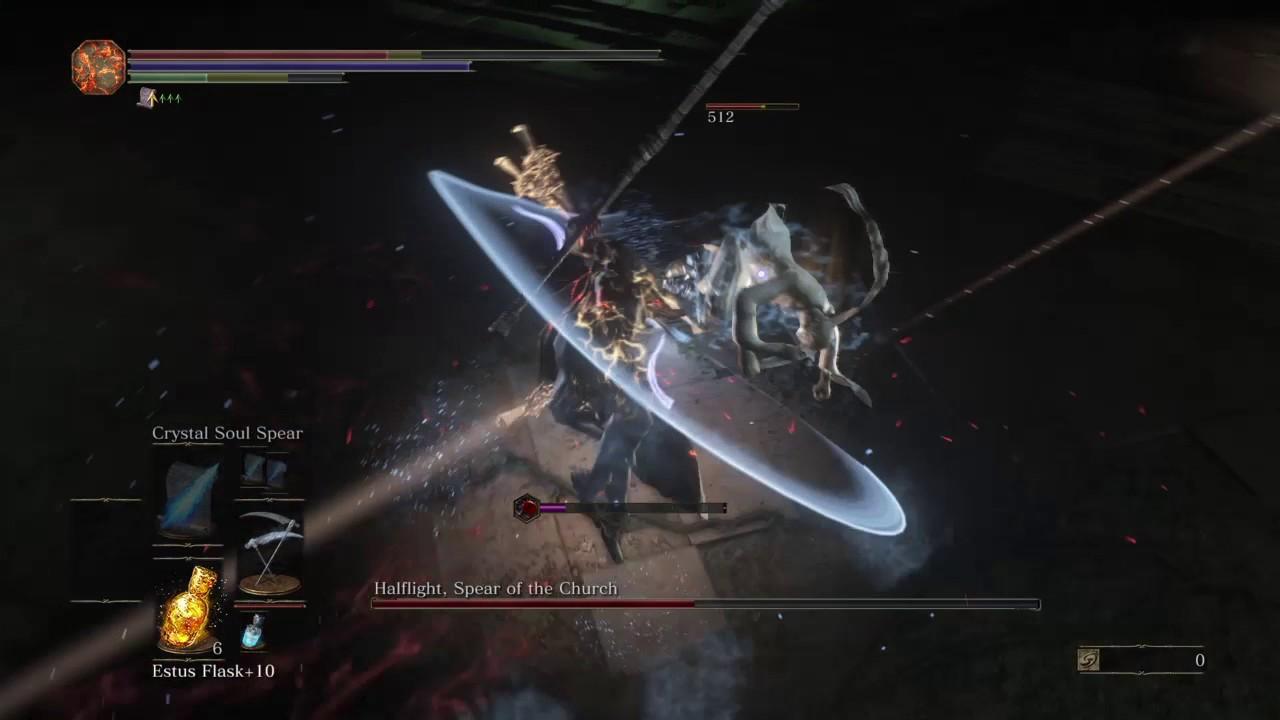 Dark Souls  Spear Of Church Build