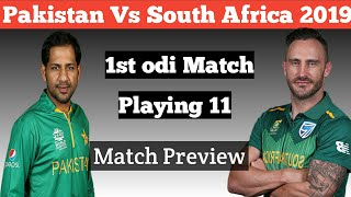 Pakistan playing 11 against South Africa 1st odi match 2018 | Pak vs South Africa 1st ODI preview