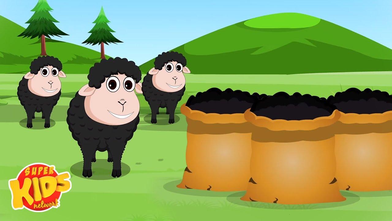 Ba Ba Black Sheep Song | Nursery Rhymes | Sheep Song for Babies - Super Kids Network