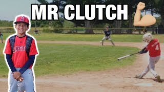 **MUST WATCH** KID HITS A WALK OFF TO WIN THE GAME! | LITTLE LEAGUE BASEBALL GAME