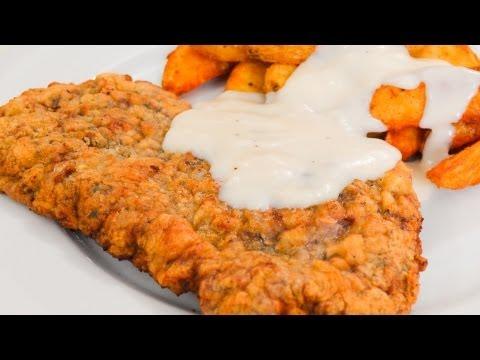 How to make chicken fried steak recipe