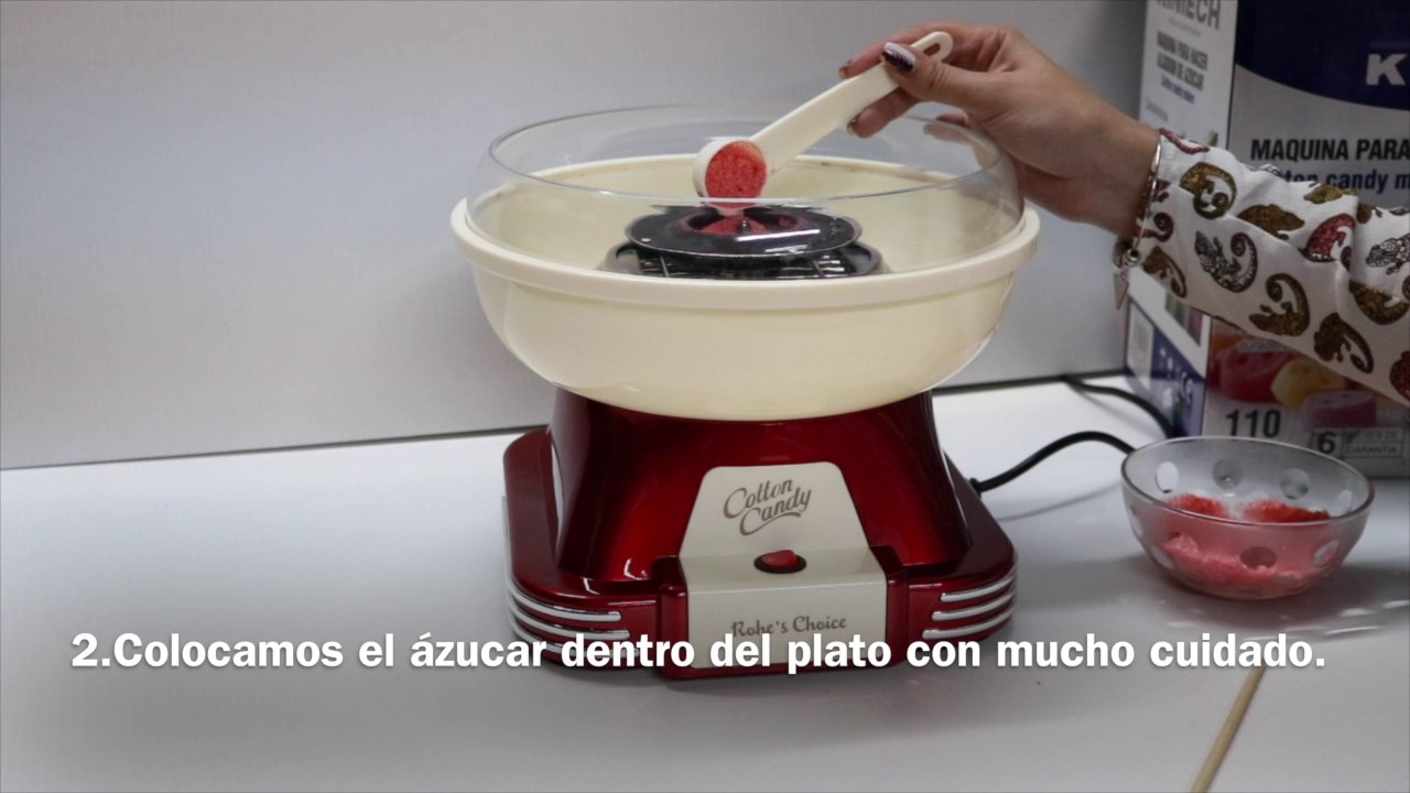 9210c2bbcc374 Máquina Algodón de Azúcar - YouTube