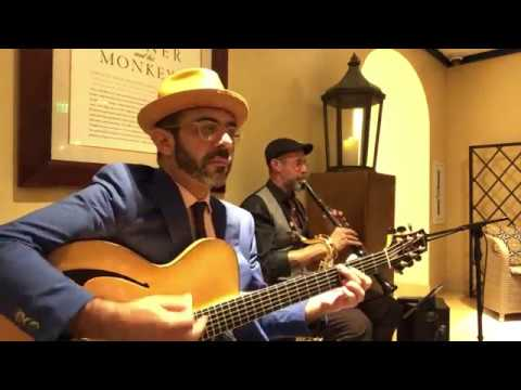 "MIAMI GYPSY JAZZ DUO  ""SWING GITAN"" at BOCA RESORT"