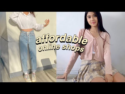 AFFORDABLE Local Online Shops Haul (jeans, trendy tops, necklaces) + GIVEAWAY