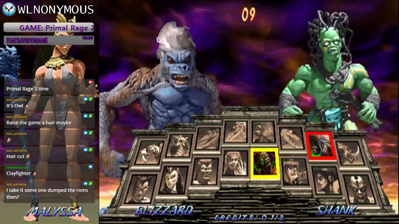 Primal Rage 2 Working Now in MAME