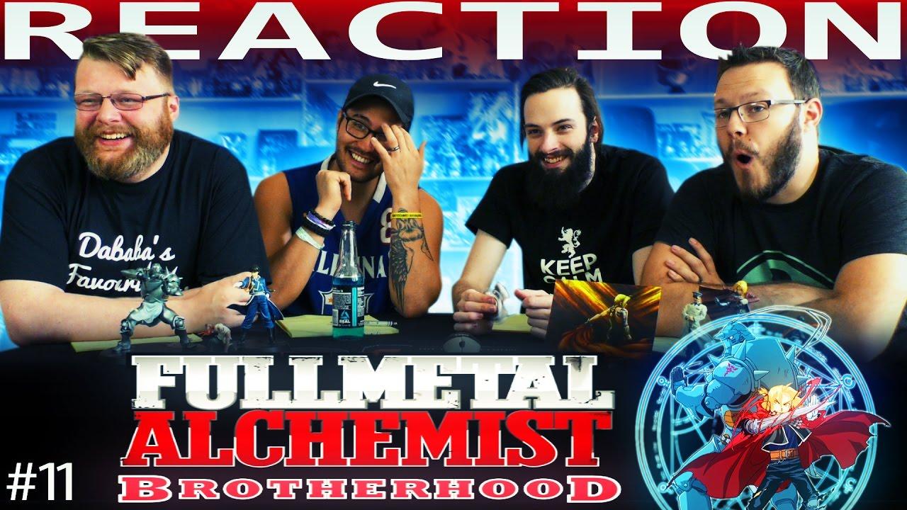 Fullmetal Alchemist: Brotherhood Episode 11 REACTION ...