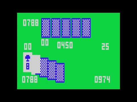 VC 25 - Casino Poker - (1981) - Channel F - gameplay HD