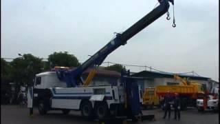Ротатор rotater грузовой эвакуатор(8х4 шасси 12300 мм вылетом кран с поворотом на 360 градусов 5 навесных опций на 26 тонный нижний лифт длинной до..., 2014-02-06T08:57:59.000Z)