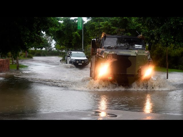 Major Queensland highway severed by flash flooding