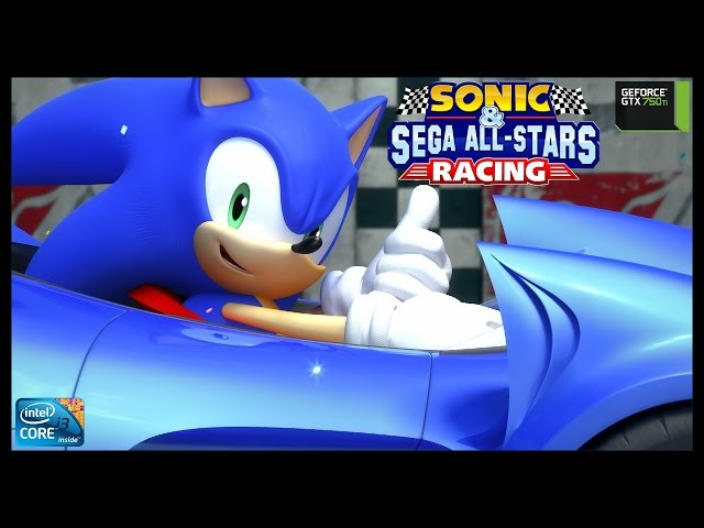Sonic & Sega All Stars Racing - I3 3250 + Gtx 750ti - Full Hd