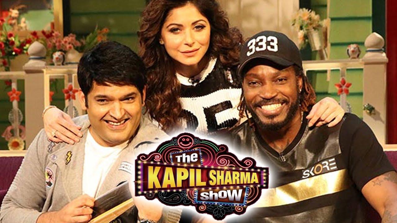 Chris Gayle | Mika Singh | Kanika Kapoor at The Kapil ...