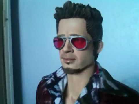 My Review of Custom Figure Brad Pitt aka Tyler Dur...