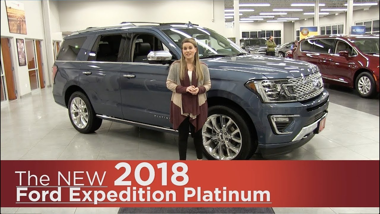 All New 2018 Ford Expedition Platinum Elk River Coon
