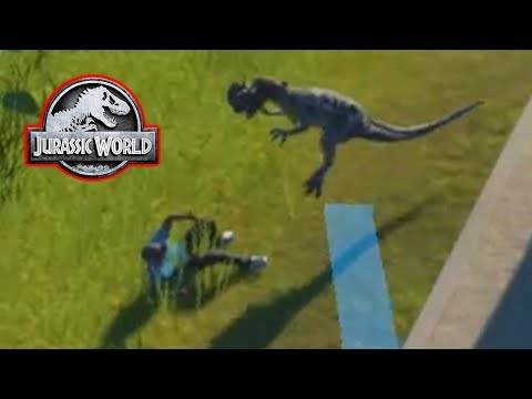 DINOSAUR EATS A GUEST! - Jurassic World Evolution #6
