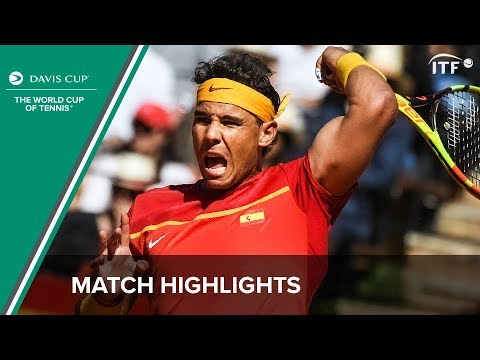 Nadal Inspires Brilliant Comeback! | Spain 3-2 Germany Highlights | ITF