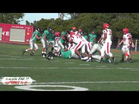 Burton Pumas vs Balboa Buccaneers 2016 San Francisco High School Football
