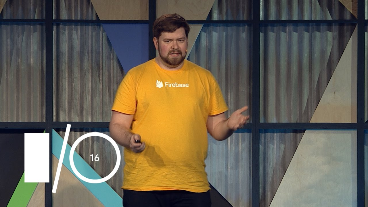 Progressive Web Apps On Firebase Google I O 2016 Youtube