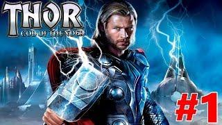 Thor God of Thunder Gameplay Walkthrough Chapter 1 The Jotun Raid (Part 1)
