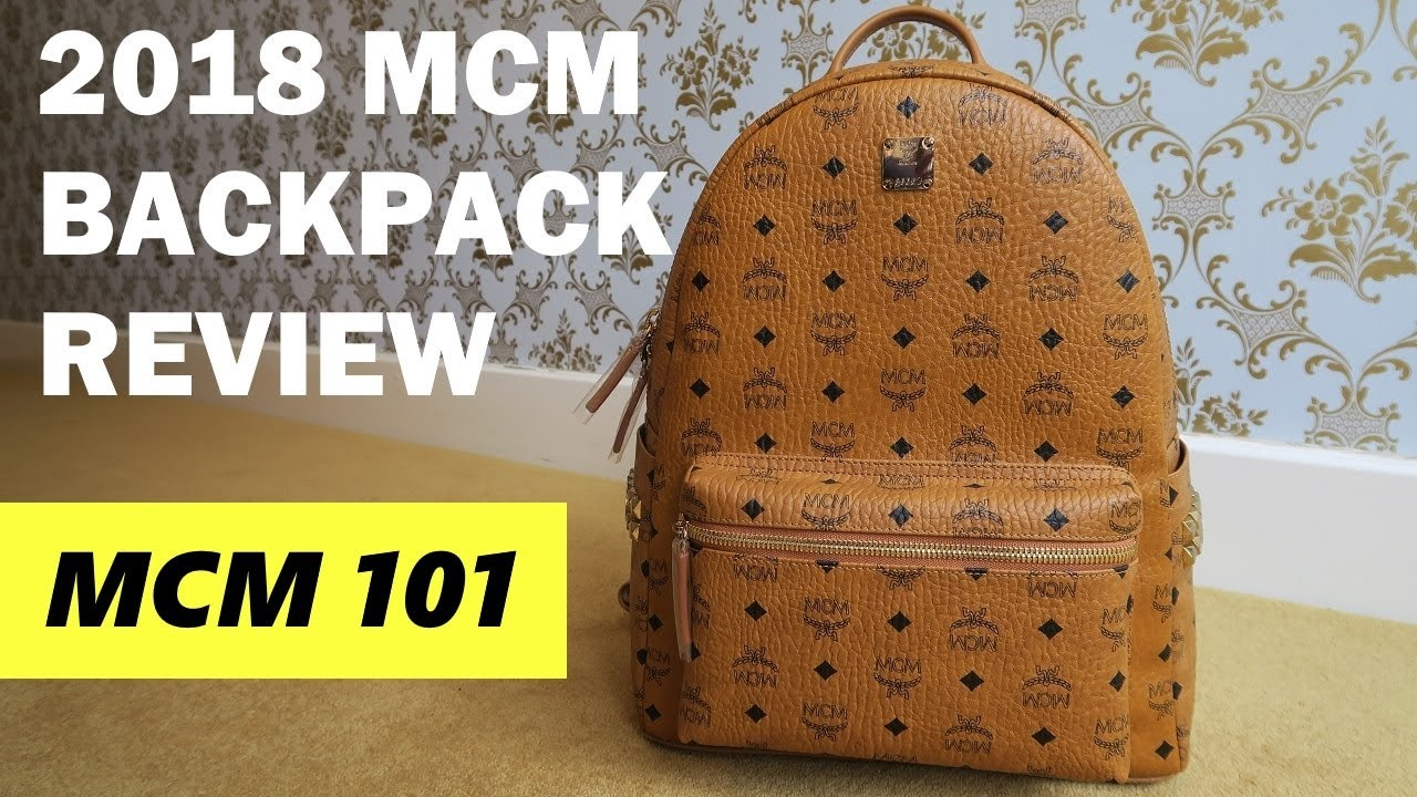 990109e8801 MCM 101 - MCM Backpack Unboxing   Review - YouTube