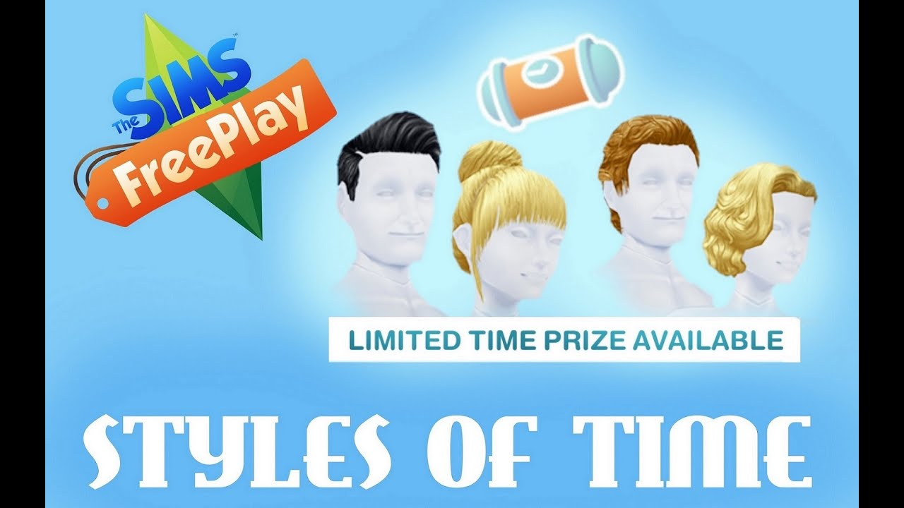 The sims freeplay long hairstyle - Sims Freeplay L Styles Of Time