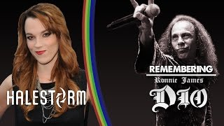 Halestorm's Lzzy Hale - Remembering Ronnie James Dio