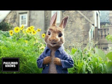 pedro coelho peter rabbit trailer dublado hd youtube. Black Bedroom Furniture Sets. Home Design Ideas