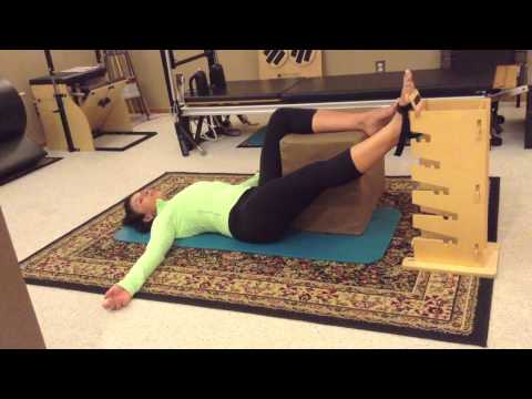 Multi Positional Tower | Tips & Directions on The Supine Groin Stretch Progressive
