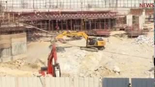 Homes near Bengaluru construction site shudder as builder uses explosives.