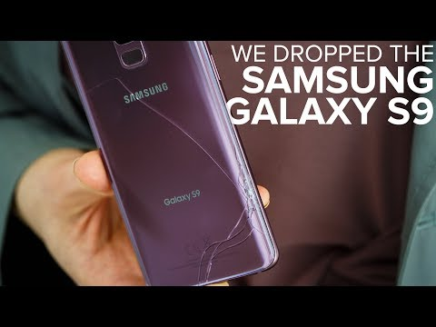 Galaxy S9 drop test: How strong is the glass?